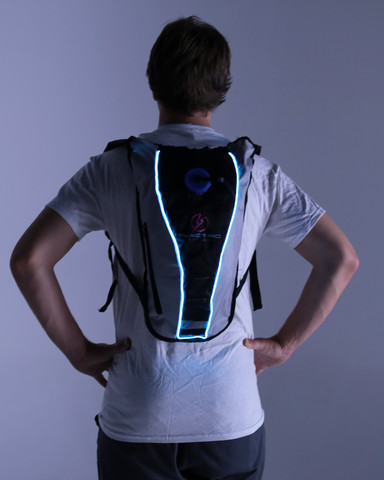Light Up Hydration Pack - Blue
